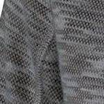 heathered black-grey