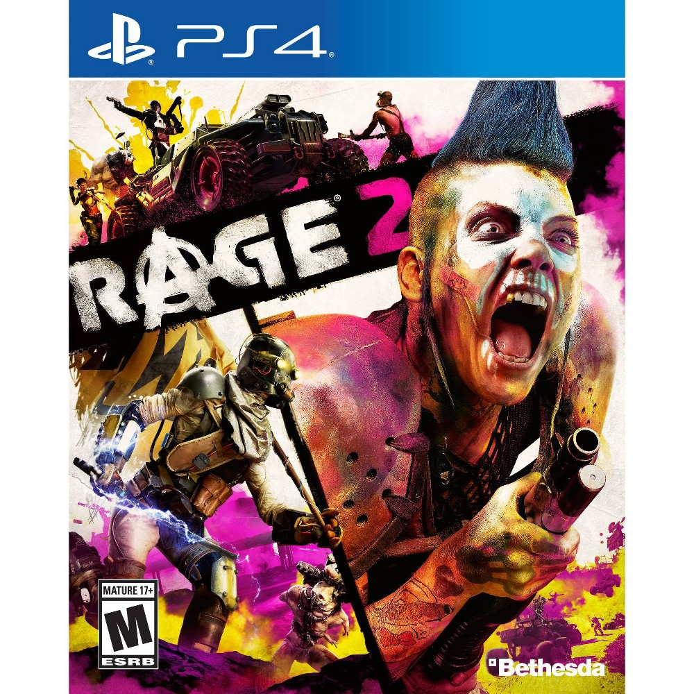 Rage 2 - PlayStation 4, video games