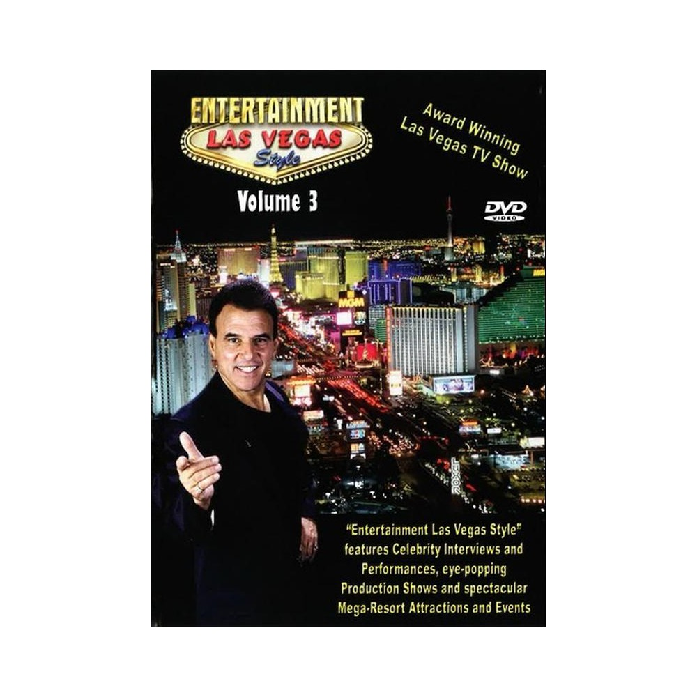 Entertainment Las Vegas Style Volume 3 Dvd 2015