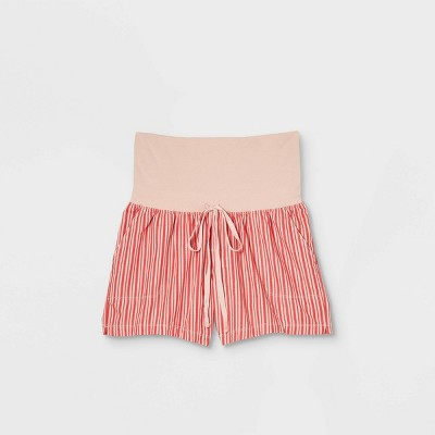 Twill Maternity Pull-On Shorts - Isabel Maternity by Ingrid & Isabel™