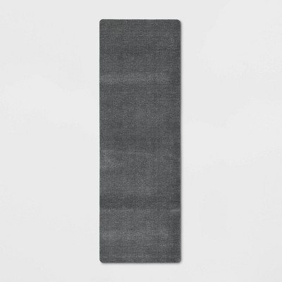 "60""x20"" Comfort Kitchen Rug Gray - Threshold™"