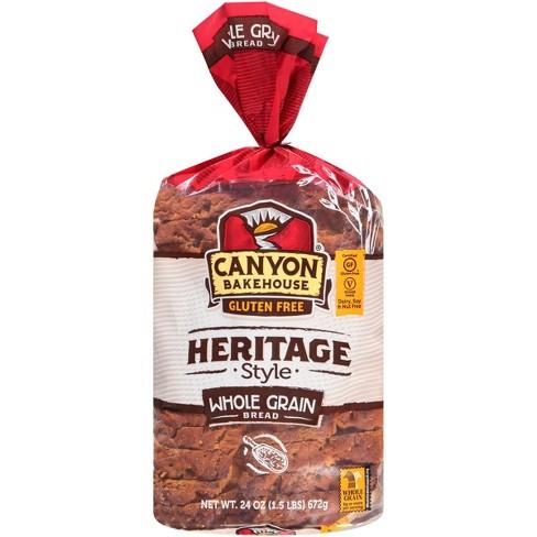 Canyon Bakehouse Gluten Free Heritage Whole Grain Bread - 24oz - image 1 of 4