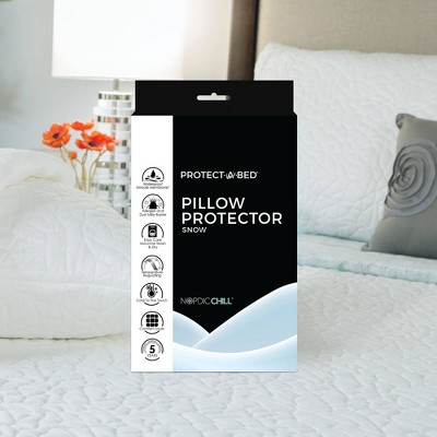 Snow Pillow Protector - Protect-A-Bed