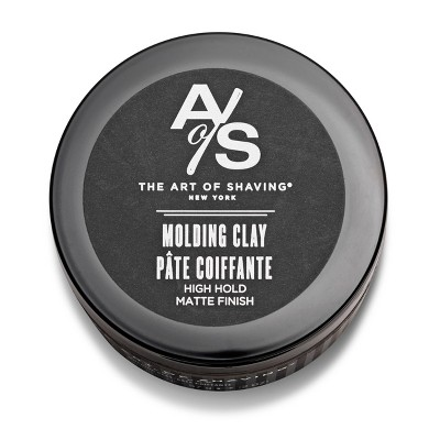 The Art Of Shaving Men's Molding Clay Hair Styling Product - 2oz