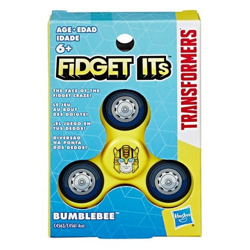 Fidget Its Transformers Bumblebee Graphic Spinner - image 1 of 9