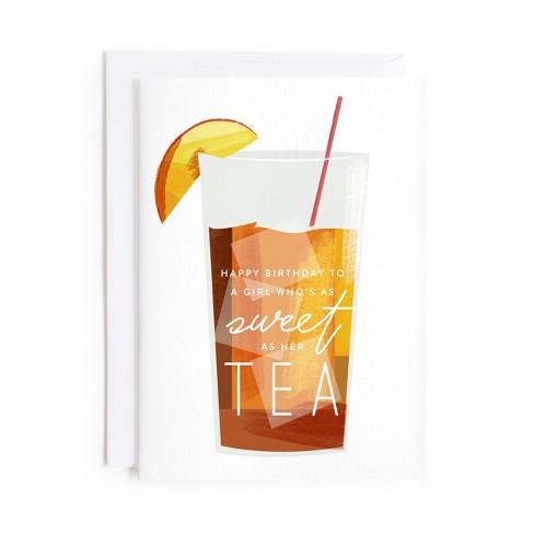 Minted Sweet As Tea Card Target