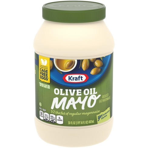 Kraft Reduced Fat Mayonnaise with Olive Oil 30oz - image 1 of 3