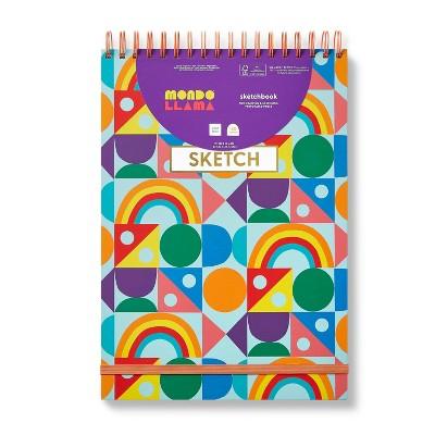 """9""""x13"""" Shapes Art Sketchbook - Mondo Llama™"""