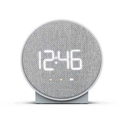 Round Time Table Clock Gray - Capello