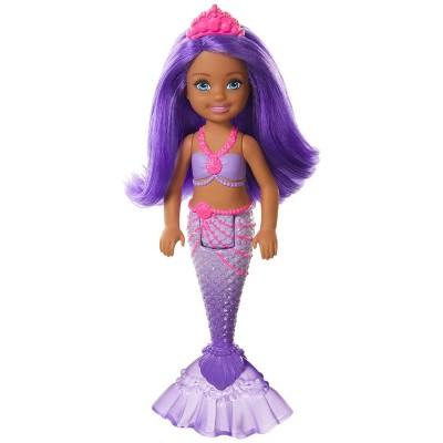 Barbie Dreamtopia Chelsea Mermaid Purple Hair Doll