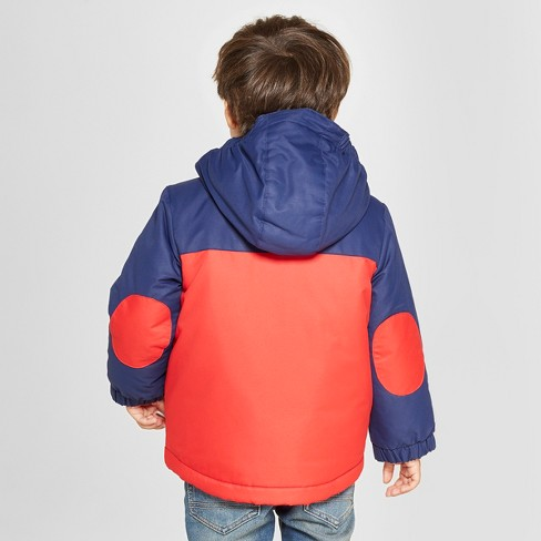 1c2240fa72eb Toddler Boys  Colorblock 3-in-1 Jacket - Cat   Jack™ Red   Target