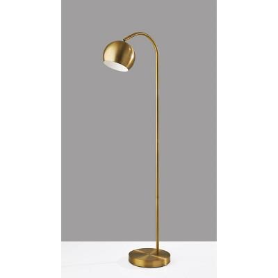 Emerson Floor Lamp Antique Brass - Adesso