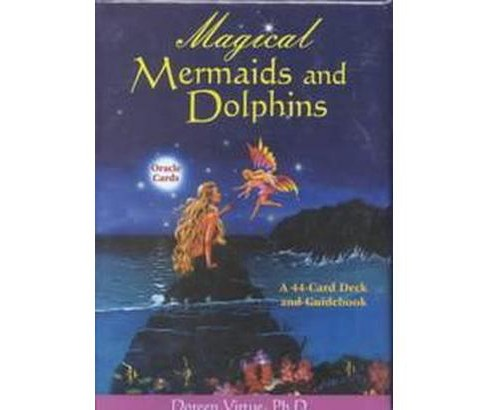 Magical Mermaids and Dolphins Oracle Cards (Paperback) - image 1 of 1
