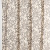 Floral Shower Curtain Tan - Project 62™ - image 2 of 3