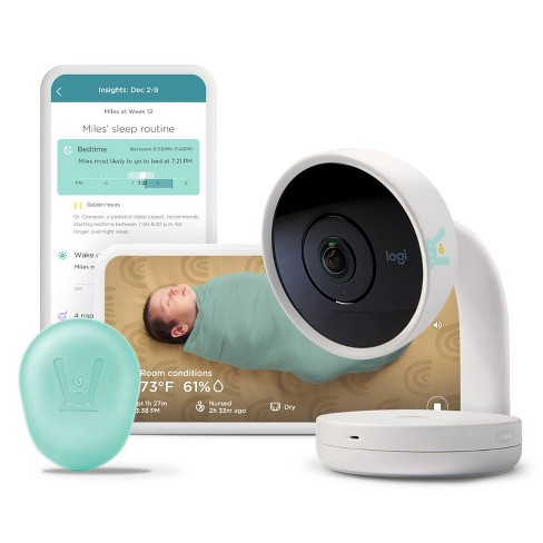 Lumi by Pampers Smart Video Baby Monitor + Sleep Kit Bundle - image 1 of 4
