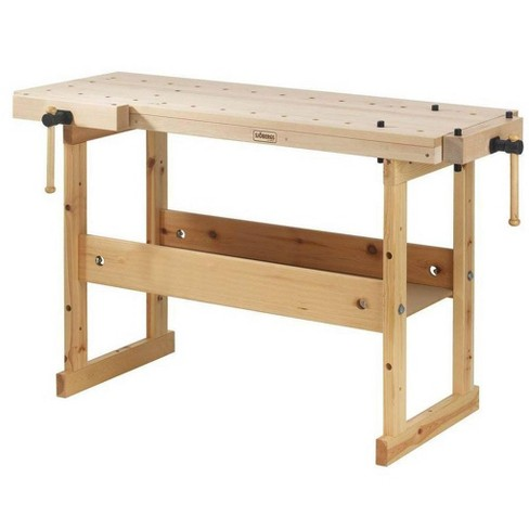 Sjobergs Hobby Plus Heavy Duty 4 Foot Compact Garage Tools Woodworking Bench Target
