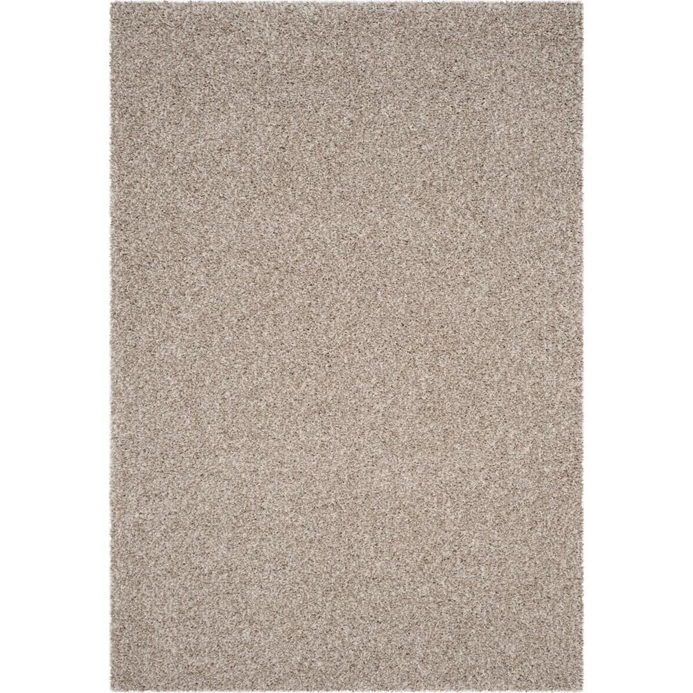 8'6X12' Solid Loomed Area Rug White/Beige - Safavieh