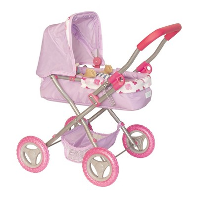 """Manhattan Toy Stella Collection Baby Doll Buggy for 12"""" and 15"""" Dolls"""