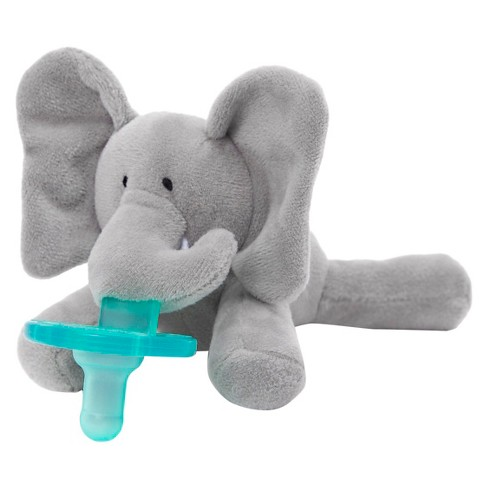 WubbaNub® Elephant Pacifier - Gray - image 1 of 9