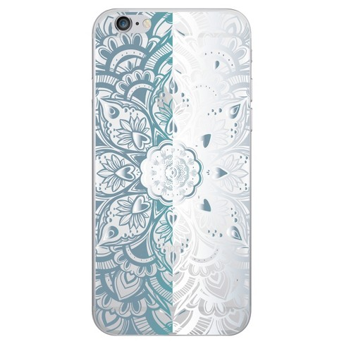 OTM Essentials iPhone 7/6/6s  Clear Phone Case, Mandala Heart - image 1 of 1