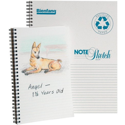 Bienfang Horizontal Sketchbook, 5-1/2 x 8-1/2 Inches, 60 lb, 64 Sheets - image 1 of 1
