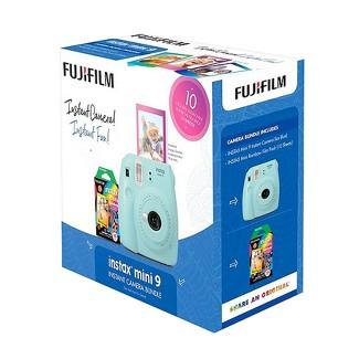 Instant Camera Fujifilm Instant Developing Film Auto Flash Blue