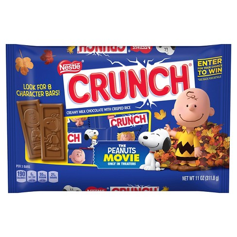 d65ed462667 Nestle Crunch Fun Size Candy Bars - 11oz   Target