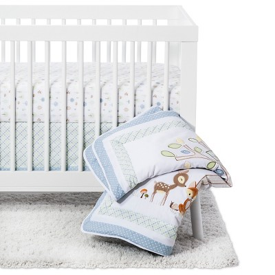 Trend Lab 6 Piece Crib Bedding Set - Forest Tales