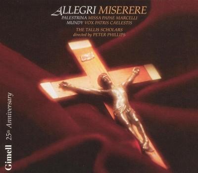 Allegri: Miserere/Palestrina: Missa Papae Marcelli/Mundy: Vox Patris Caelestis (CD)