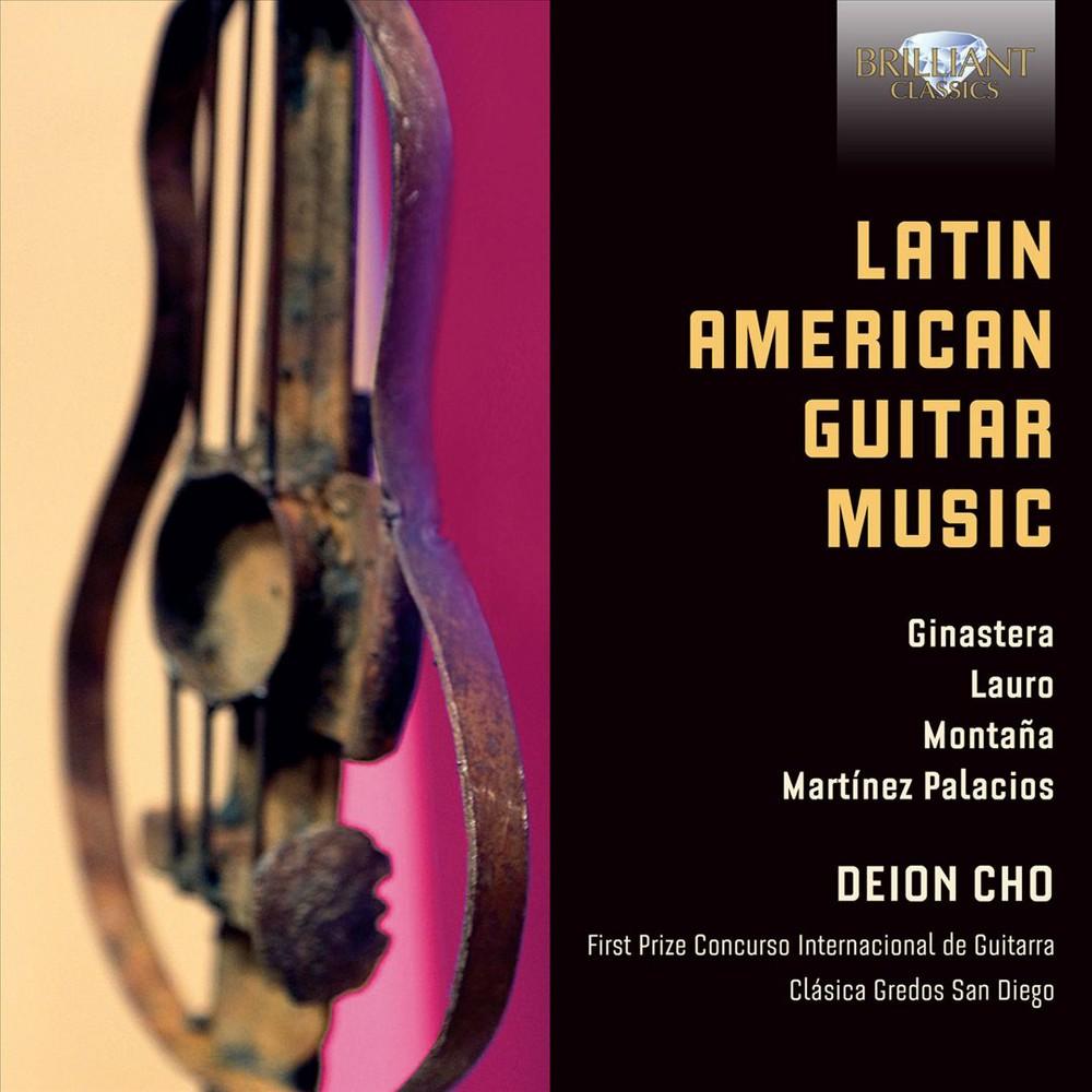 Deion Cho - Latin American Guitar Music (CD)