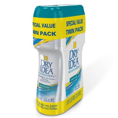 Deodorant: Dry Idea AdvancedDry