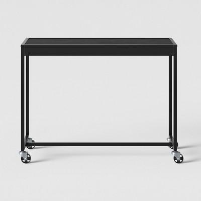 Metal Rolling Desk Black - Room Essentials™