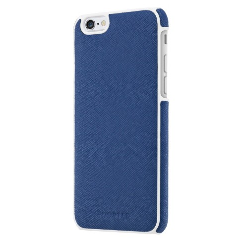 purchase cheap bccc9 2734a Adopted Leather Wrap Cell Phone Case for iPhone 6 - Navy (APH13101)