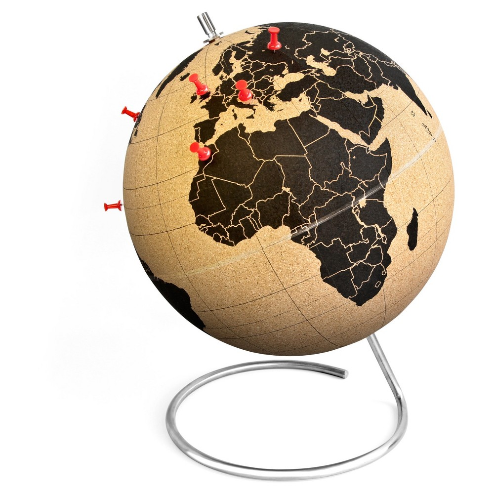 "Image of ""suckuk Cork World Globe 20"""" Diameter"""