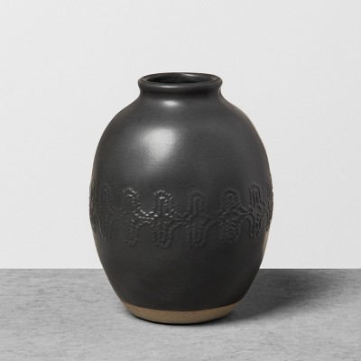 Vase Black - Hearth & Hand™ with Magnolia