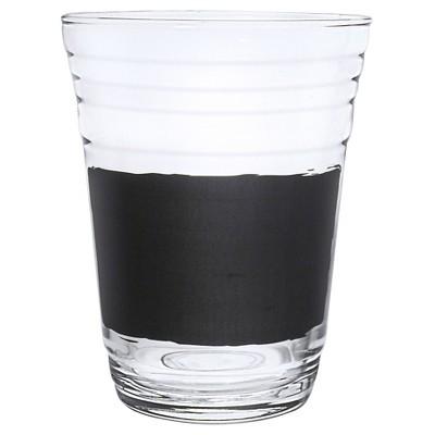 Luminarc 16oz  Write On It  Party Cups w/Chalk - Set of 6