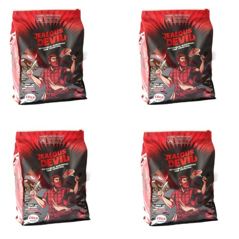 Jealous Devil 100 Percent Natural Wood Lump Grill Charcoal, 20 Pounds (4 Pack) - image 1 of 4
