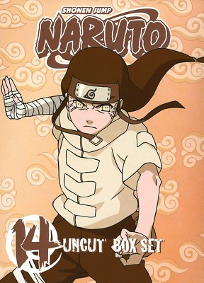 Naruto Uncut Box Set, Vol. 14 (With Playing Cards) (DVD)