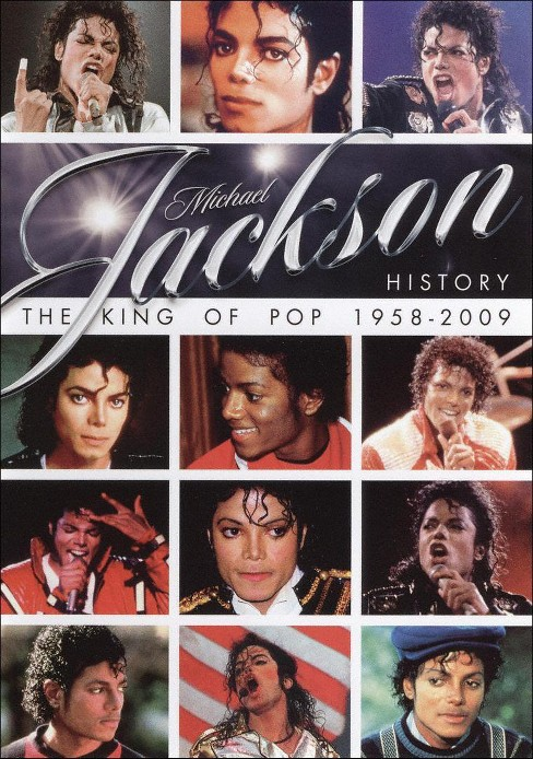 Michael Jackson History: The King of Pop 1958-2009 (dvd_video) - image 1 of 1