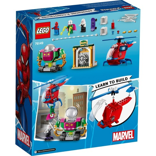 LEGO Marvel Spider-Man The Menace of Mysterio 76149 Superhero Playset with Ghost Spider Minifigure image number null