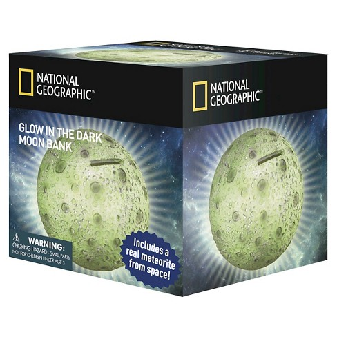 National Geographic™ Glow in the Dark Moon Bank - image 1 of 1