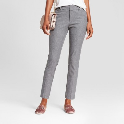Women's Skinny High-Rise Ankle Pants - A New Day™ Gray 4