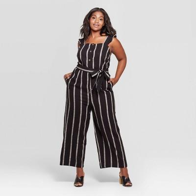0b571e6687ba Women s Plus Size Jumpsuits   Rompers