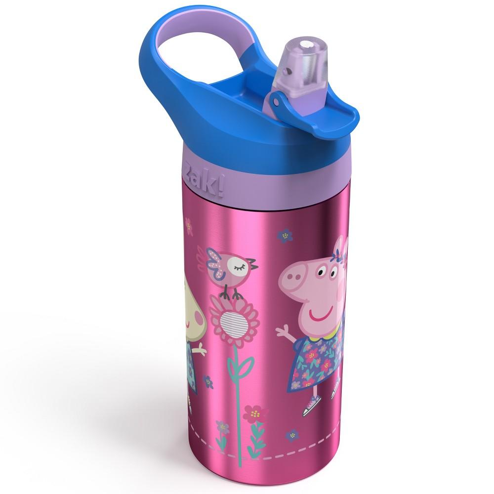 Image of Peppa Pig 19.5oz Stainless Steel Water Bottle Pink/Blue, Blue/Grey