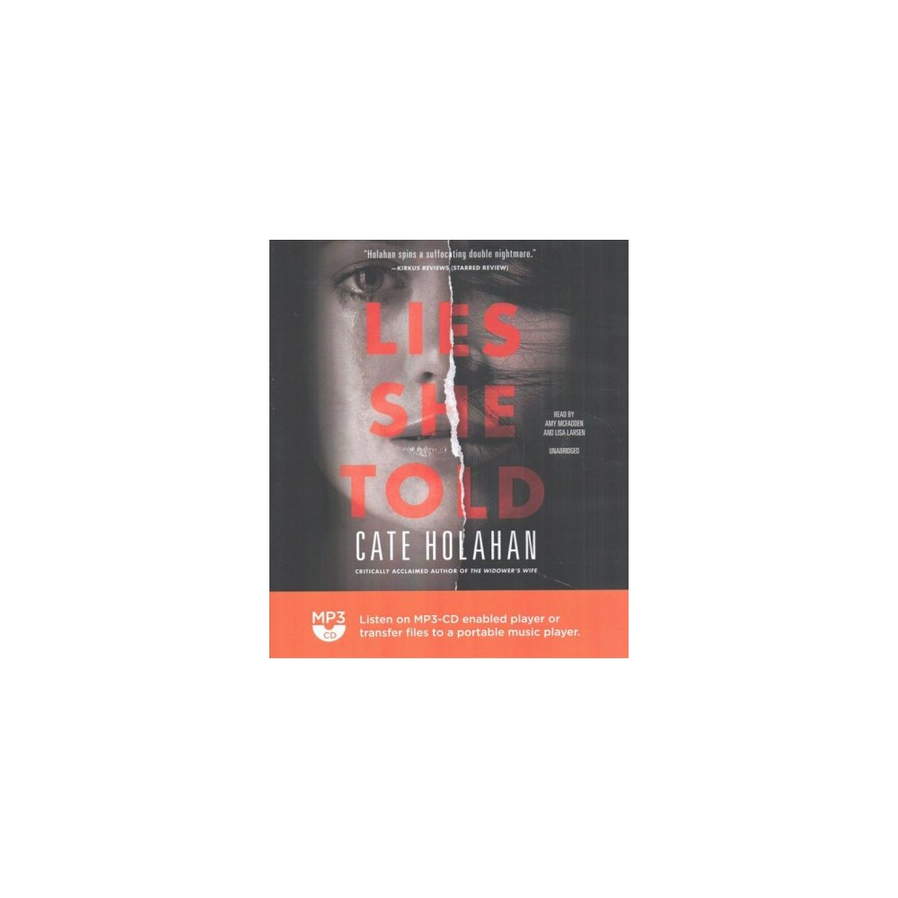 Lies She Told (MP3-CD) (Cate Holahan)