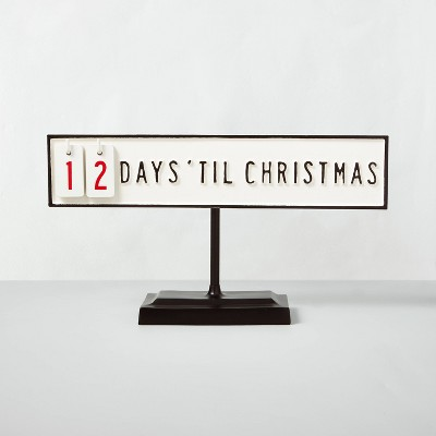 Holiday Advent Calendar with Stand - Hearth & Hand™ with Magnolia