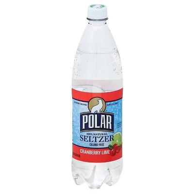 Polar Cranberry Lime - 1 L Bottle