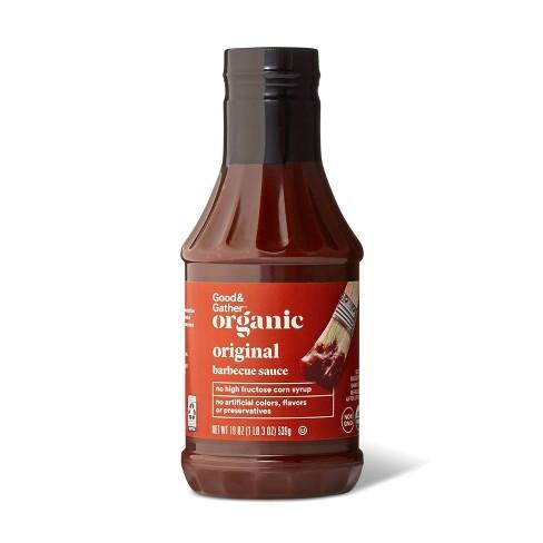 Organic Original BBQ Sauce - 19oz - Good & Gather™ - image 1 of 2