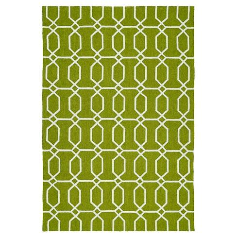 Floor Mat 2'X3' Kaleen Rugs Green - image 1 of 3
