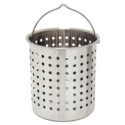 Bayou Classic  Baskets 24 Quart Perforated Stainless Steel Fry Basket B124